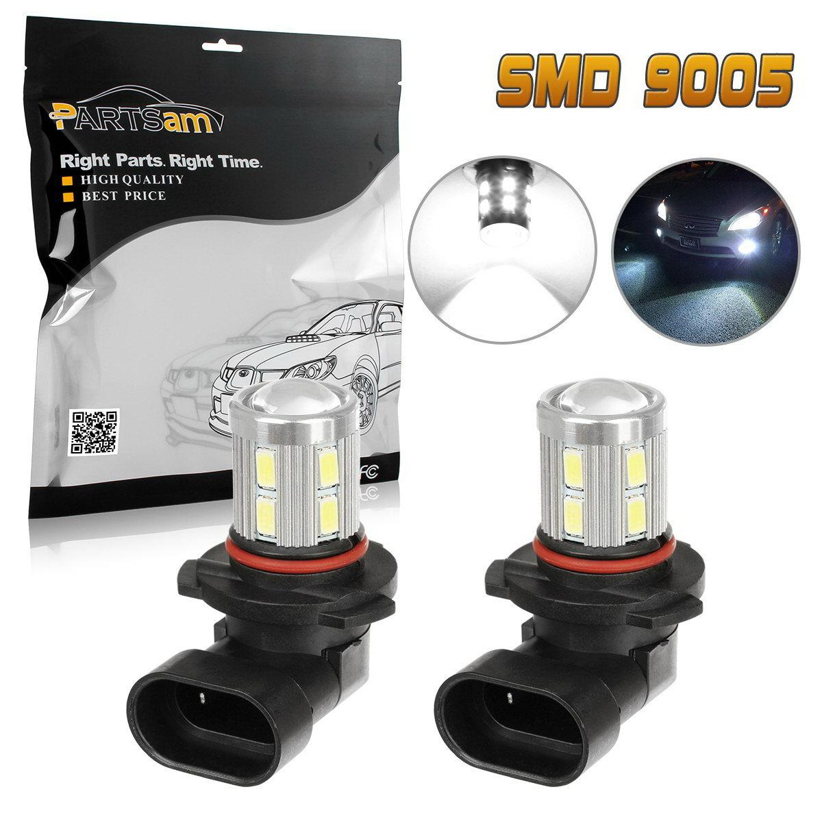 9140 Fog Light Bulb: 2 X High Power 9145 9140 H10 Bulbs For Driving Fog Light White CREE Q5 SMD  LED,Lighting