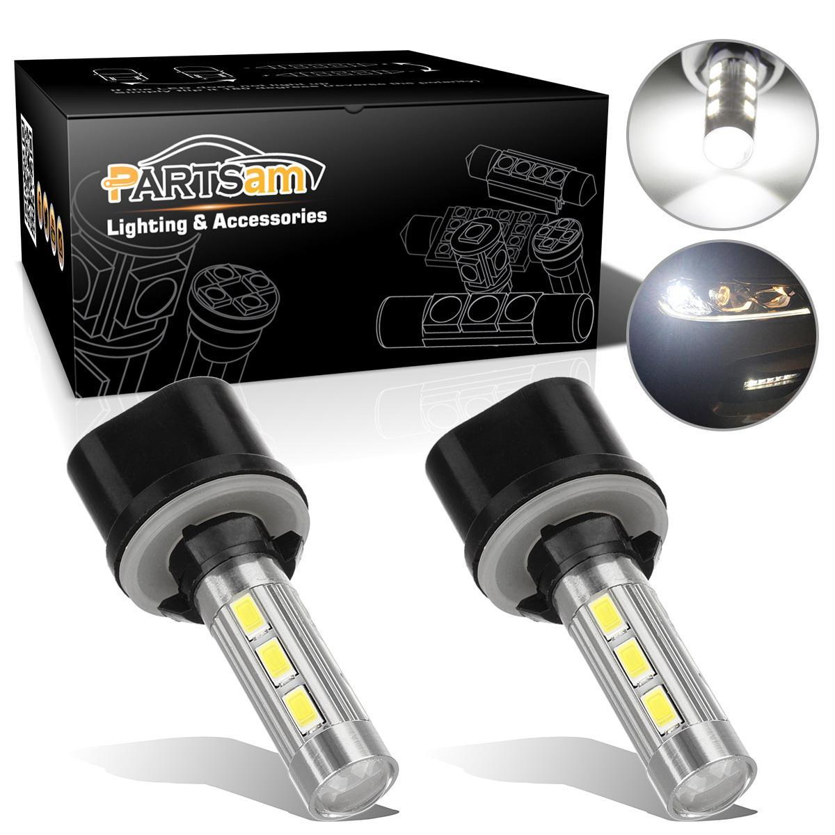 2005 2009 ford mustang 2x hid white 921 led reverse light bulb backup - Image Is Loading 2x White 880 892 893 899 High Power
