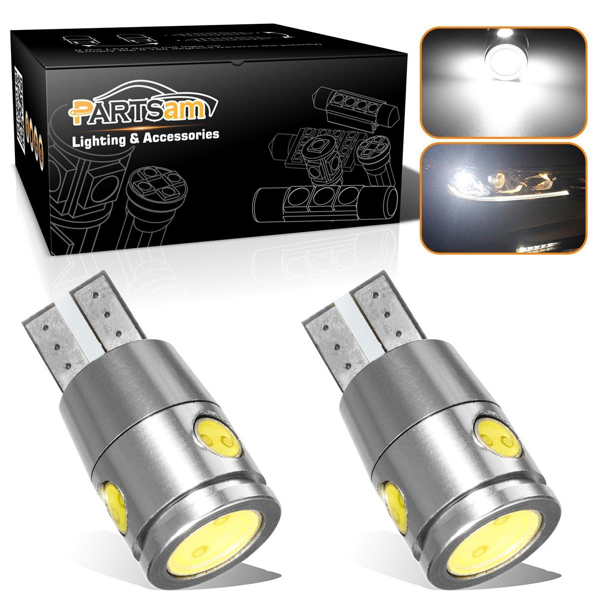 2005 2009 ford mustang 2x hid white 921 led reverse light bulb backup - 2x High Power White Led Bulbs Reverse Backup Light T10 168 192