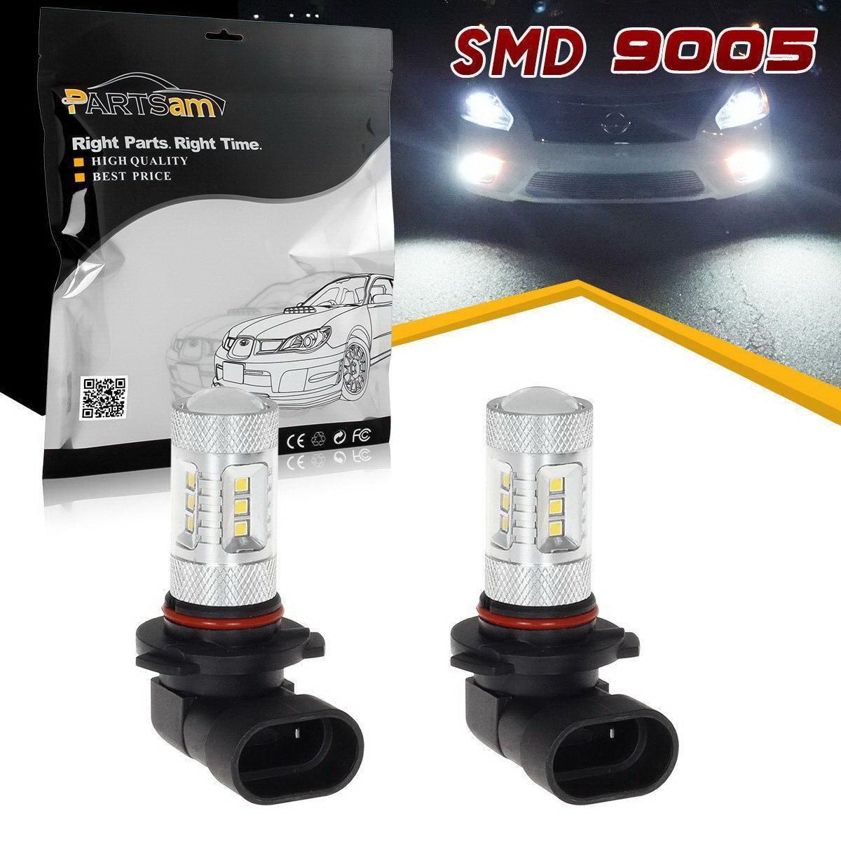 2005 2009 ford mustang 2x hid white 921 led reverse light bulb backup - 6000k White High Power Samsung 2323 15 Smd Led 9005 9040 9045 Fog Light Bulbs