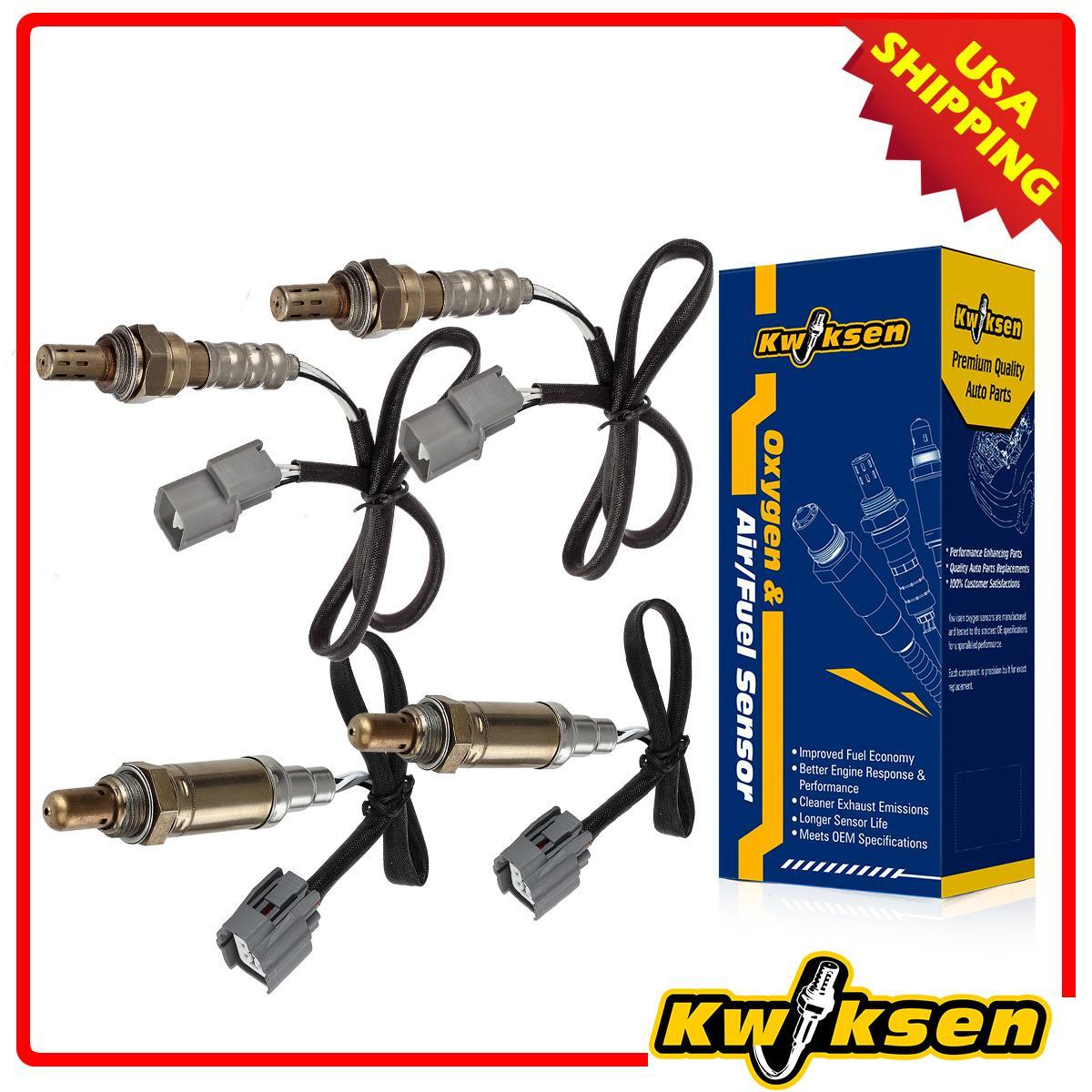 4x Oxygen Sensor O2 Combo 15175 15630 For 00-04 Land Rover