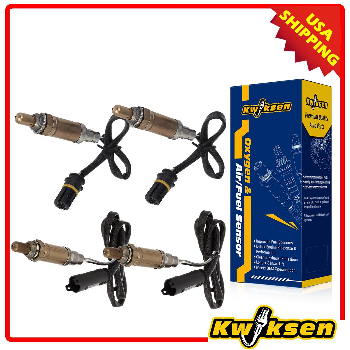 4pcs oxygen o2 sensor upstream downstream for 2001 2006 bmw x5 330xi 325xi ebay