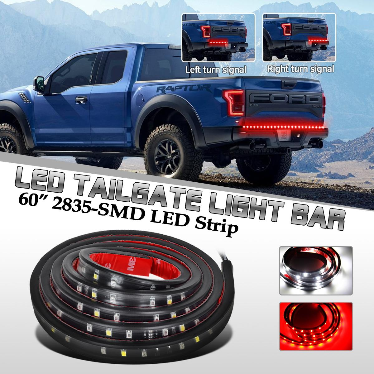 saturn sky tail lights 60 universal red white tailgate led light bar reverse brake turn signal running fits saturn sky