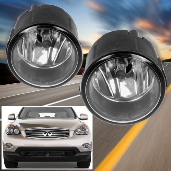Infiniti Ex35 2011: 2x Fog Lights Lamp H11 Halogen Bulb Assembly RH LH For