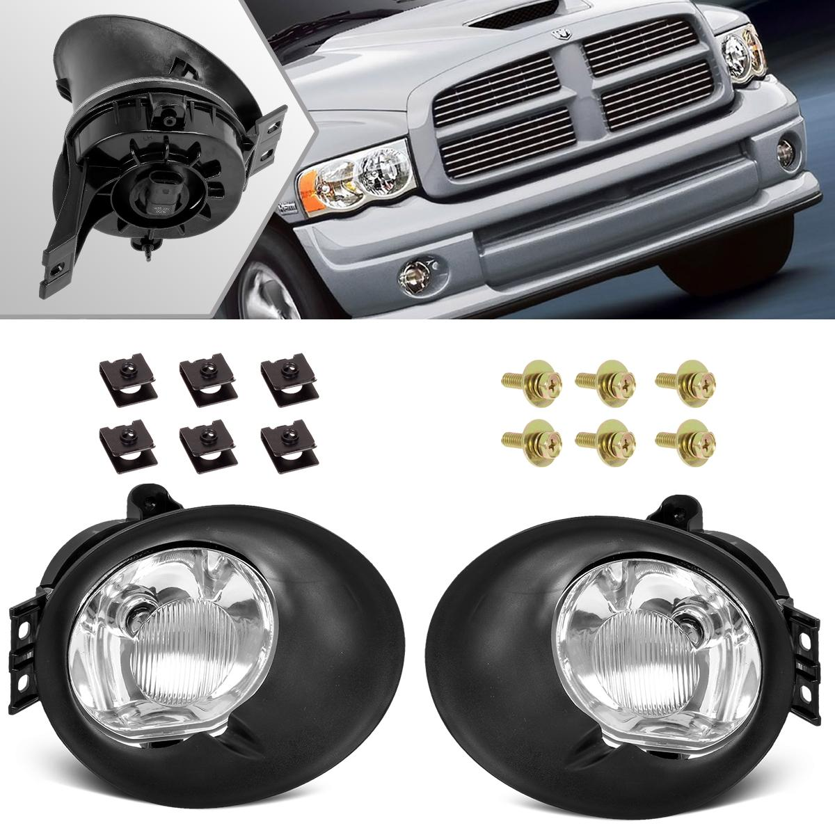 for 2006 2009 dodge ram 1500 2500 3500 fog lights driving. Black Bedroom Furniture Sets. Home Design Ideas