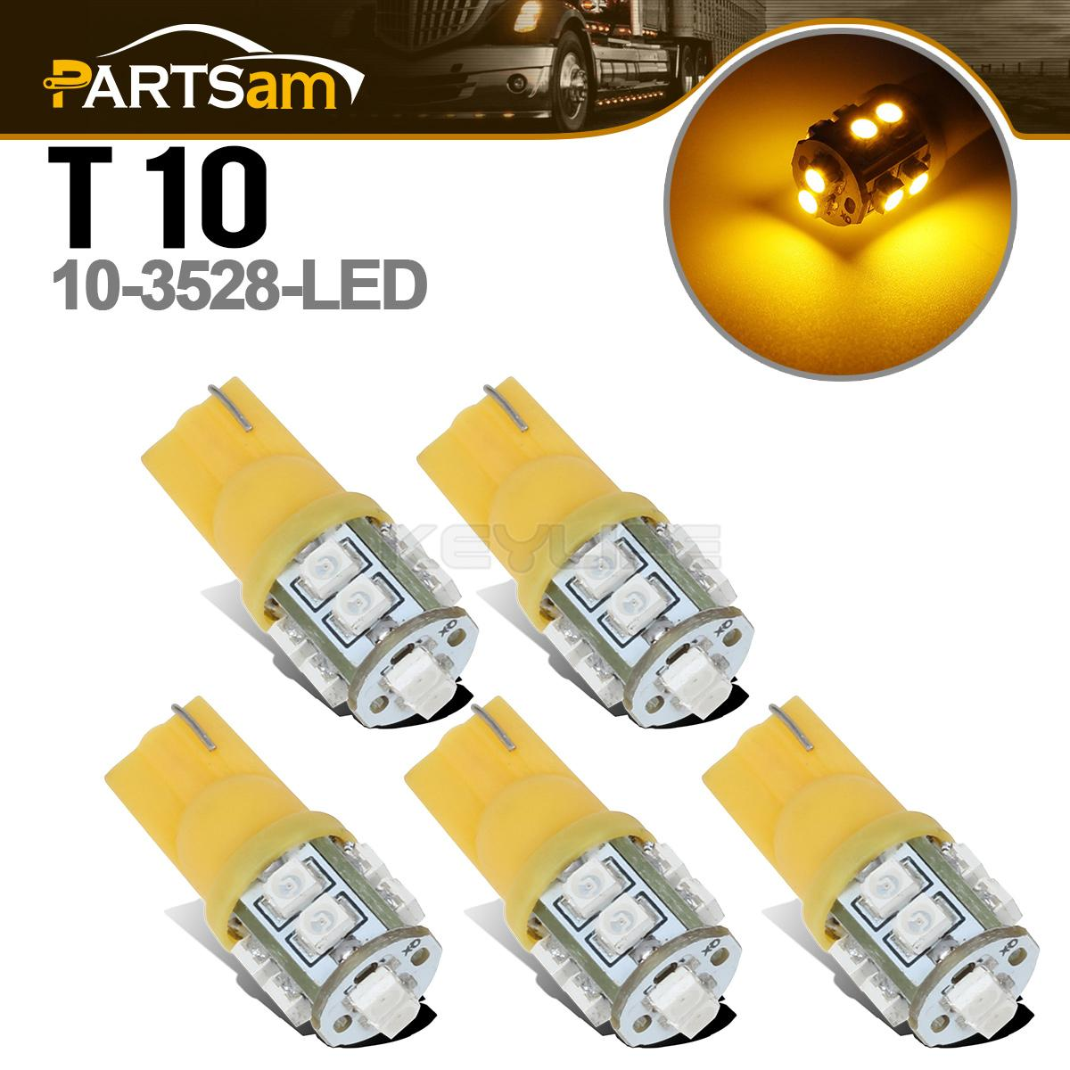 5x194 168 10 3528 smd amber led bulbs for clearance cab ATV Wire Parts Chinese BMX ATV Wiring Harness