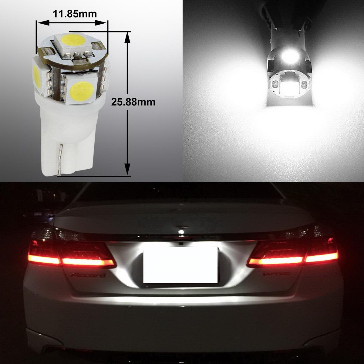 16x Deluxe White Interior Package Kit Led Lights For Honda Odyssey 2005 2010