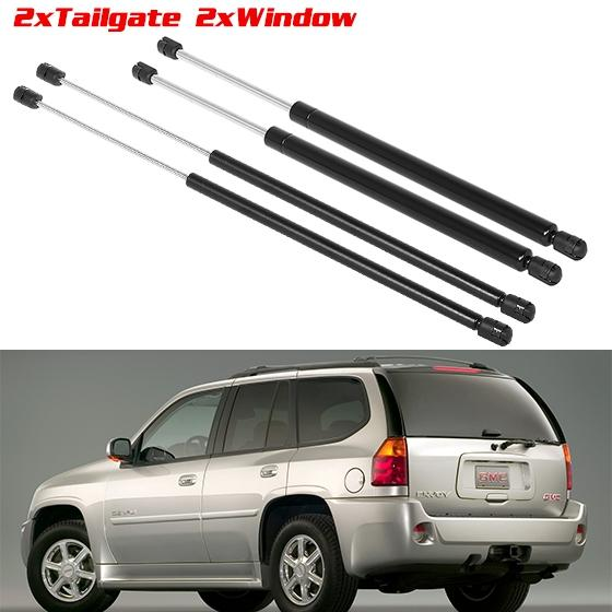 2008 Isuzu I 290 Extended Cab Exterior: 4 Pack 2 Rear Hatch 2 Rear Window Lift Struts Supports