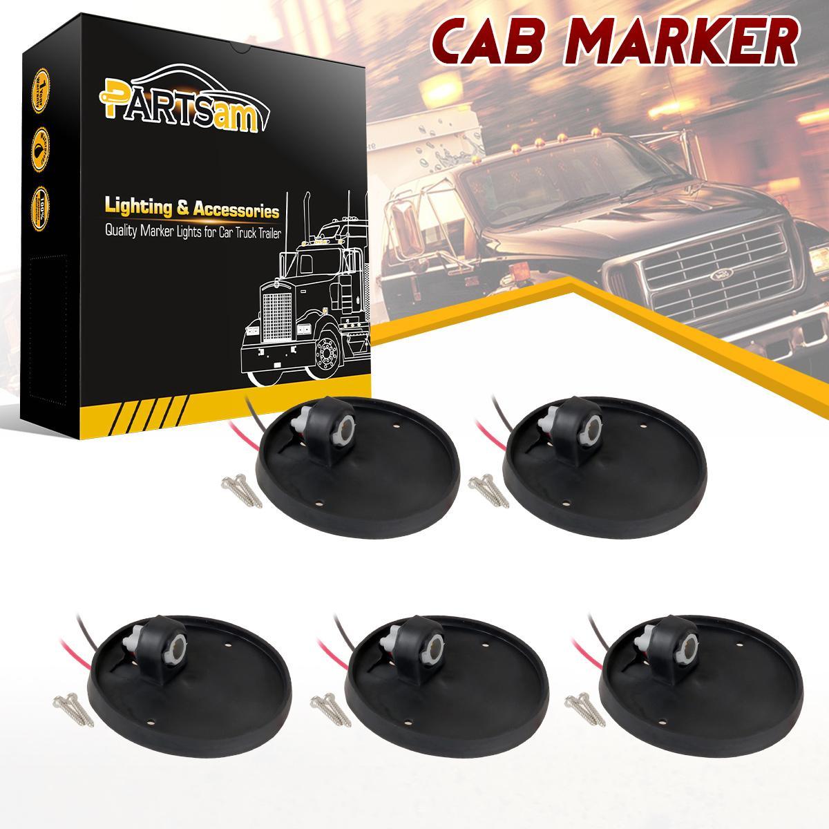 Qty 5 Truck Lite Cab Marker Rubber Base For Chevrolet C K