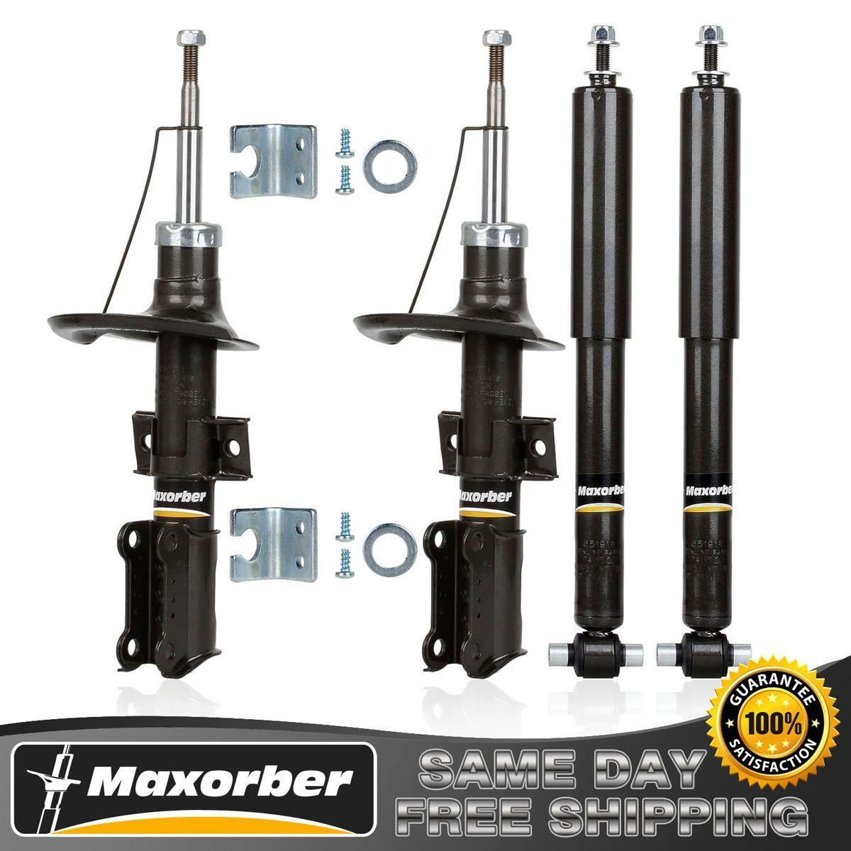 Maxorber new full set shocks struts for 2001 2007 volvo for 2001 volvo v70 window regulator
