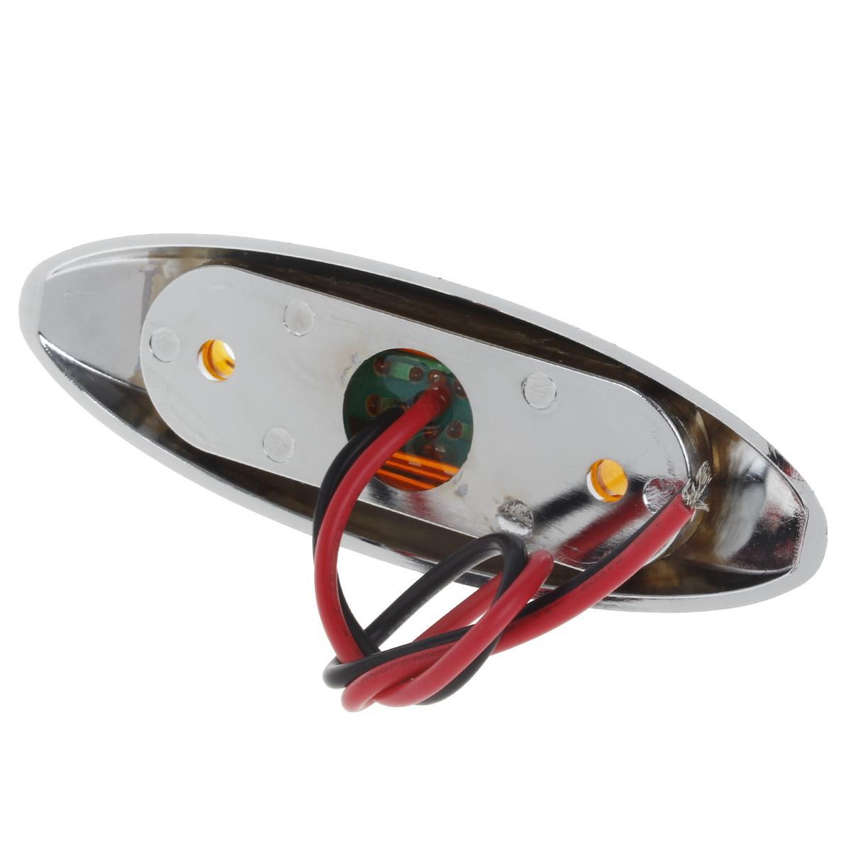 4pcs 12 volt led trailer light 3 diode clearance side. Black Bedroom Furniture Sets. Home Design Ideas
