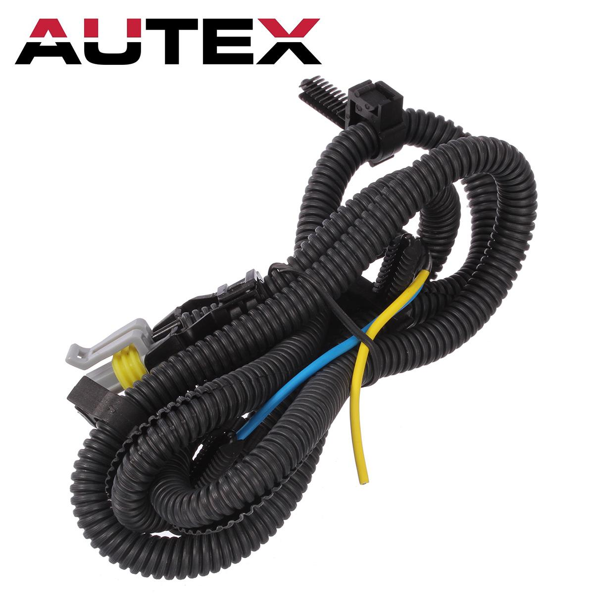 N abs speed sensor harness wire front for