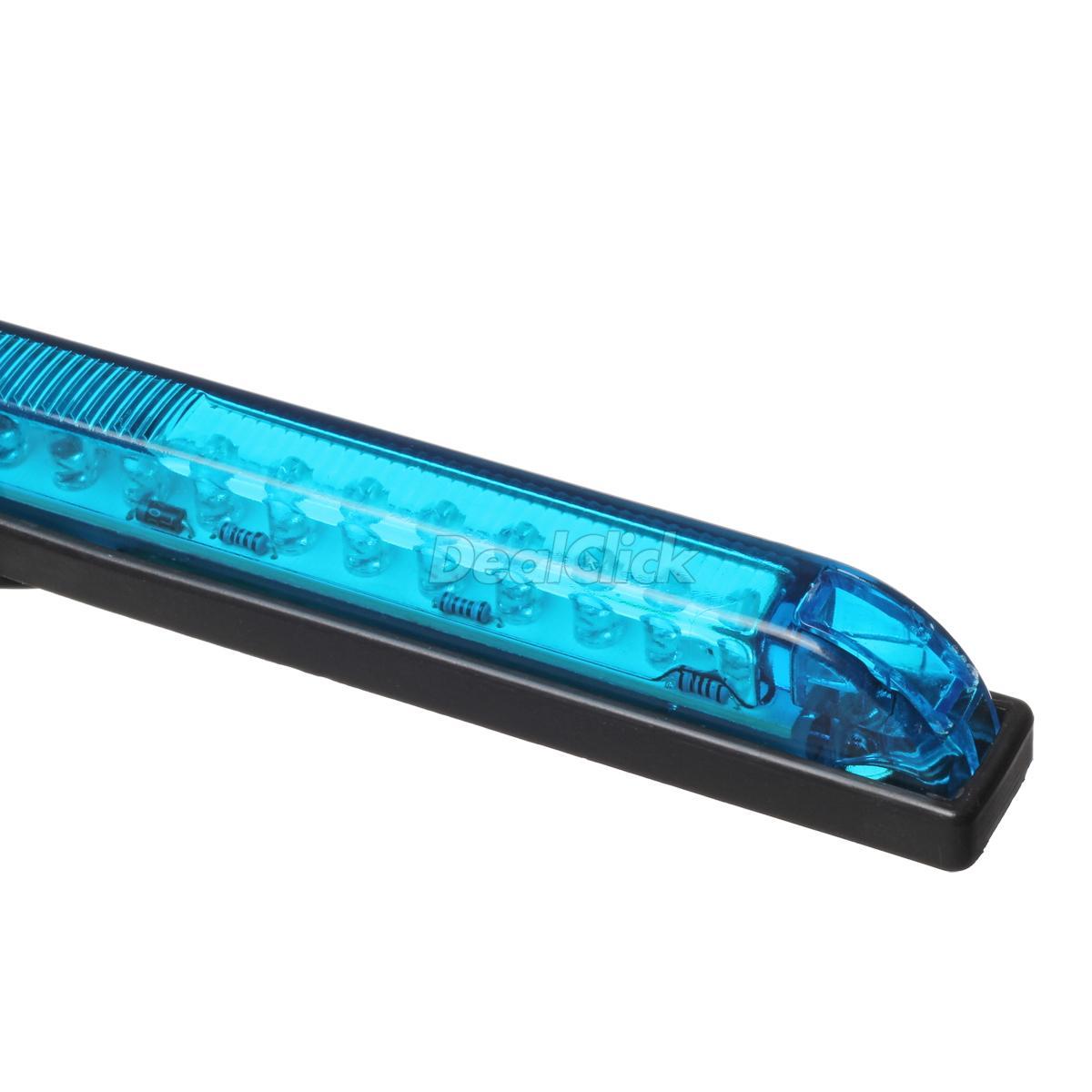 Blue led strip bar