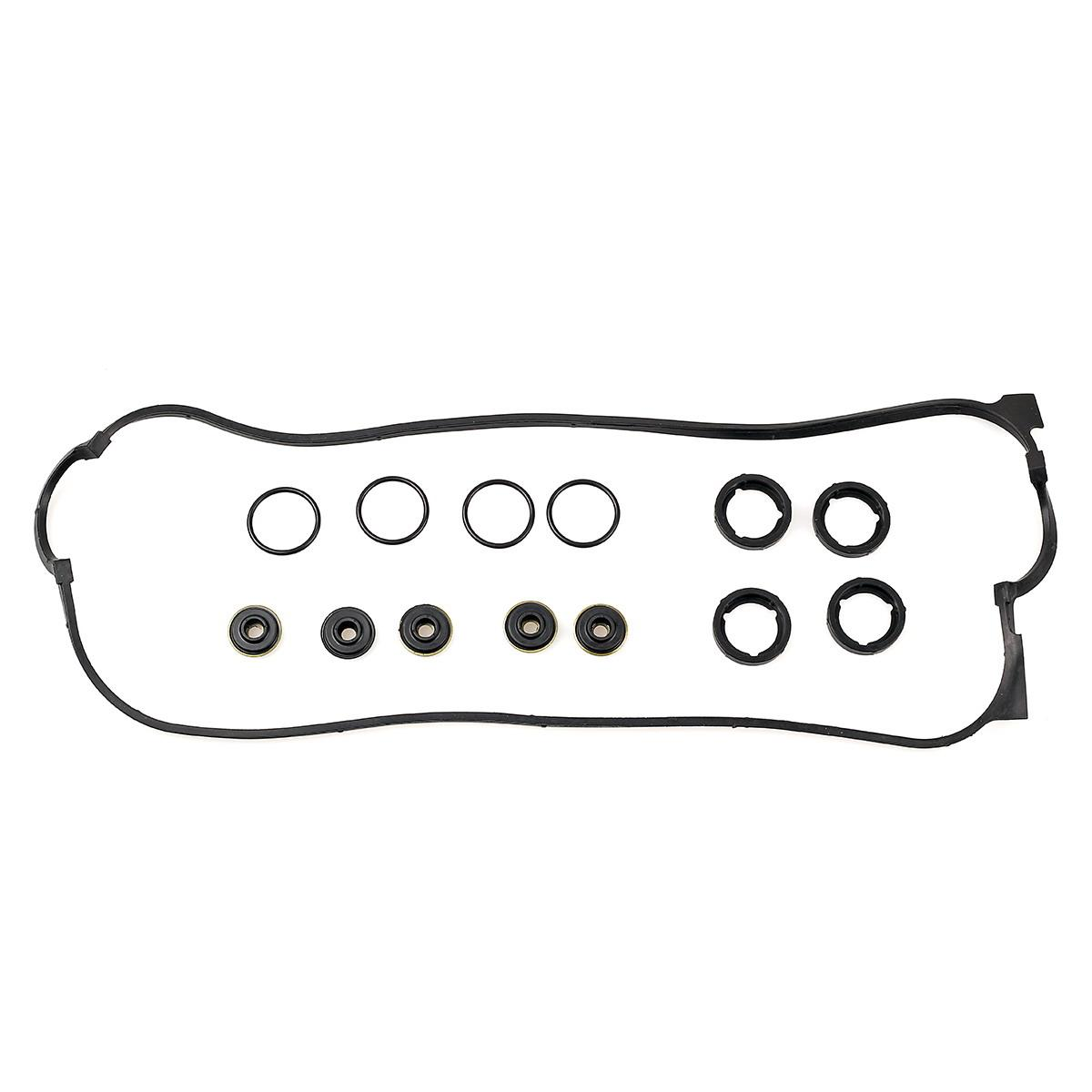 engine valve cover gasket set fits honda accord dx lx 2 2l f22a1 oe repl