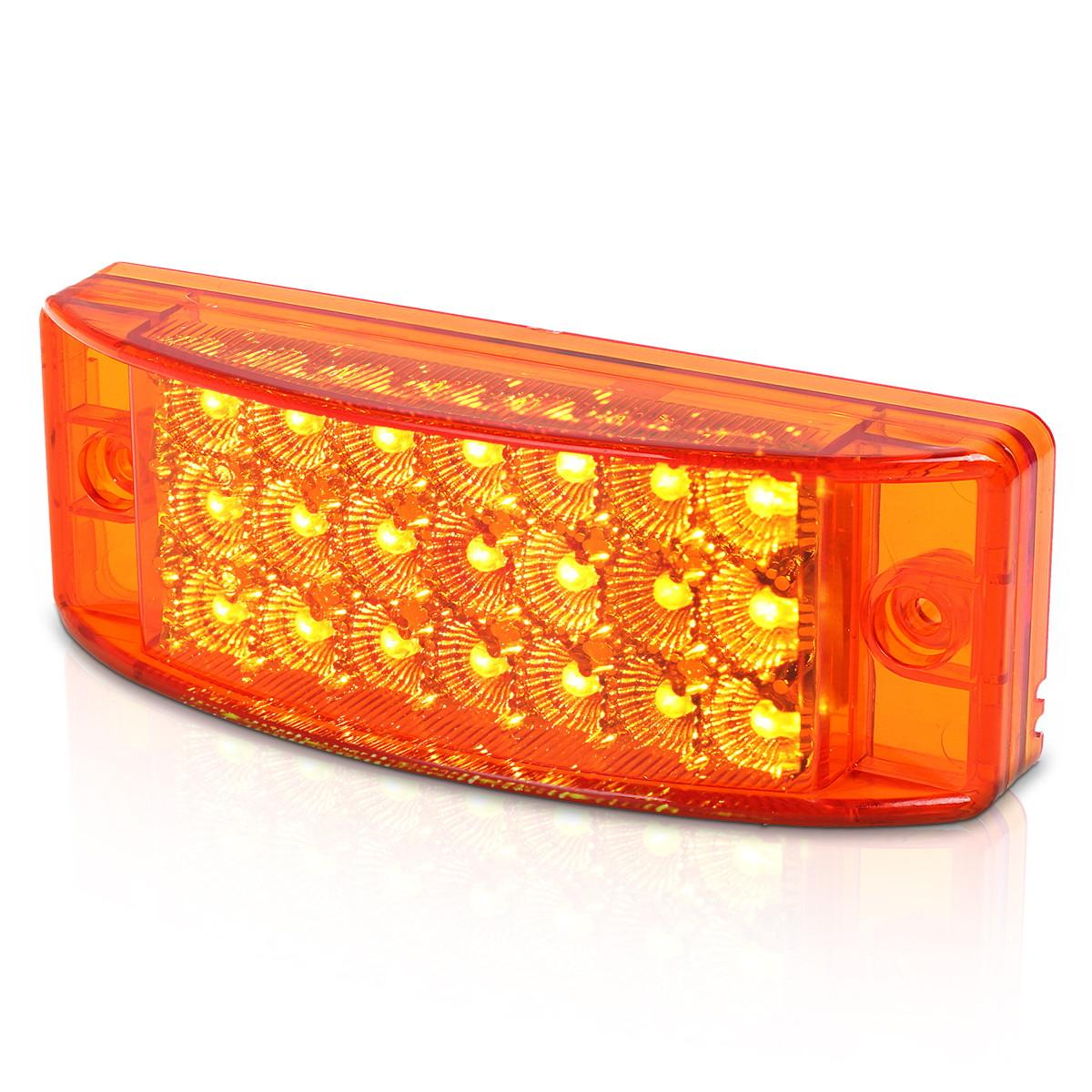 6 Quot Led Trailer Clearance Side Marker Light 21 Diode