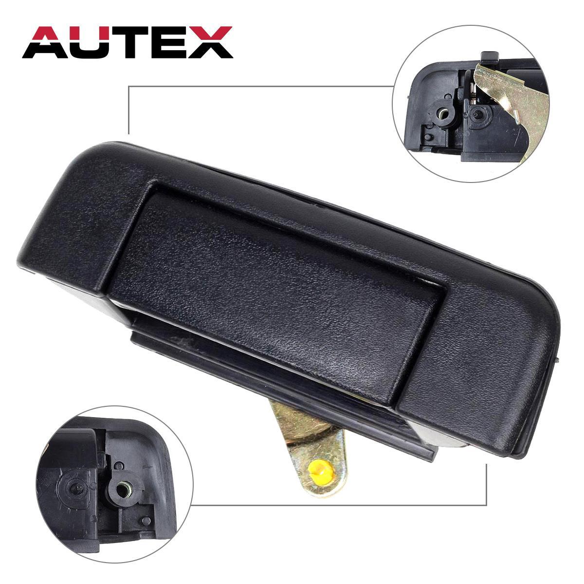 Service manual 1989 audi 100 rear door handle replacement for Back door replacement