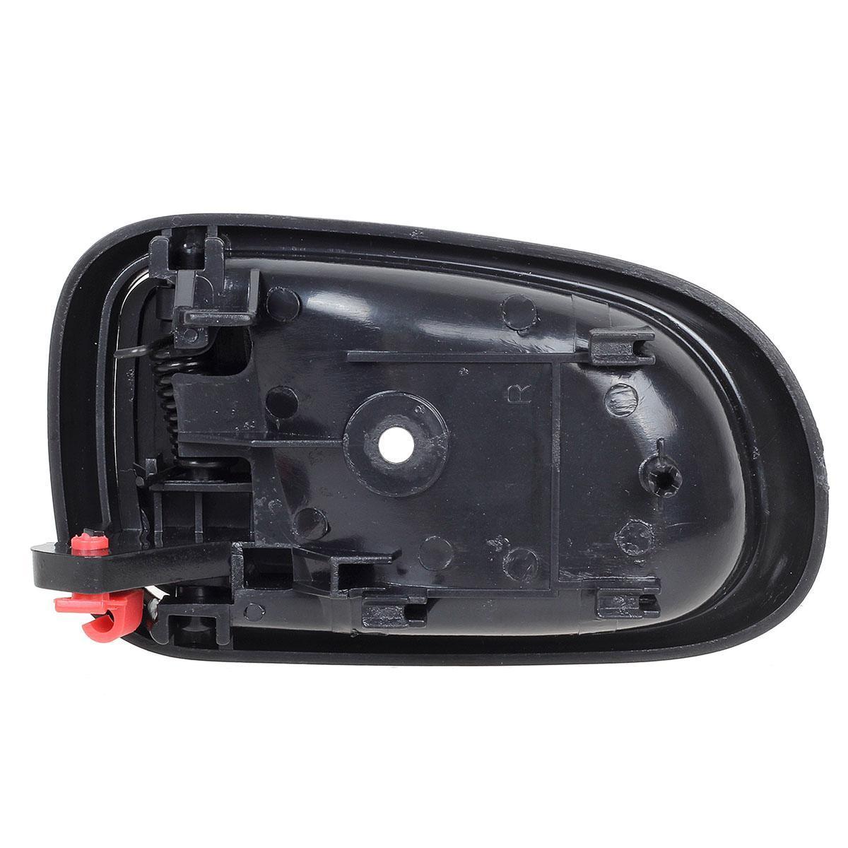 For 93-97 TOYOTA COROLLA Interior Black Front/Rear Right