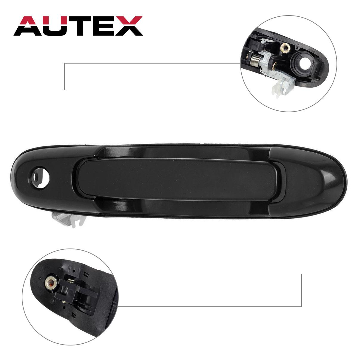 For 1998 2003 Toyota Sienna Outside Outer Front Left Driver Lh Side Door Handle Ebay