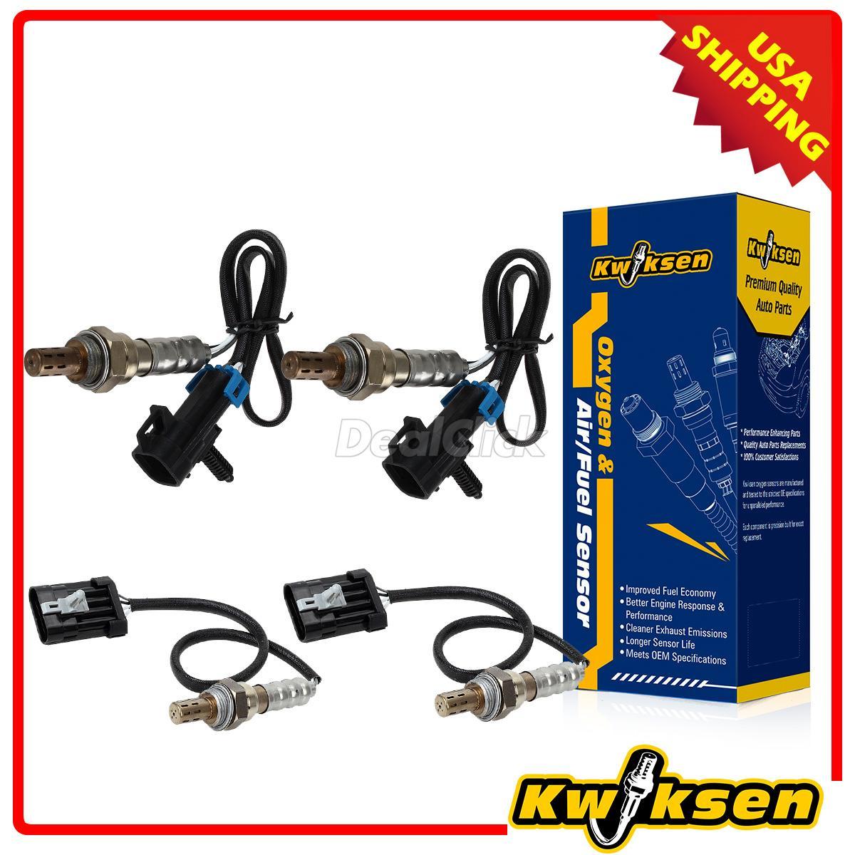 4x O2 Oxygen Sensor 1 Sensor 2 For 96 00 Chevrolet Tahoe
