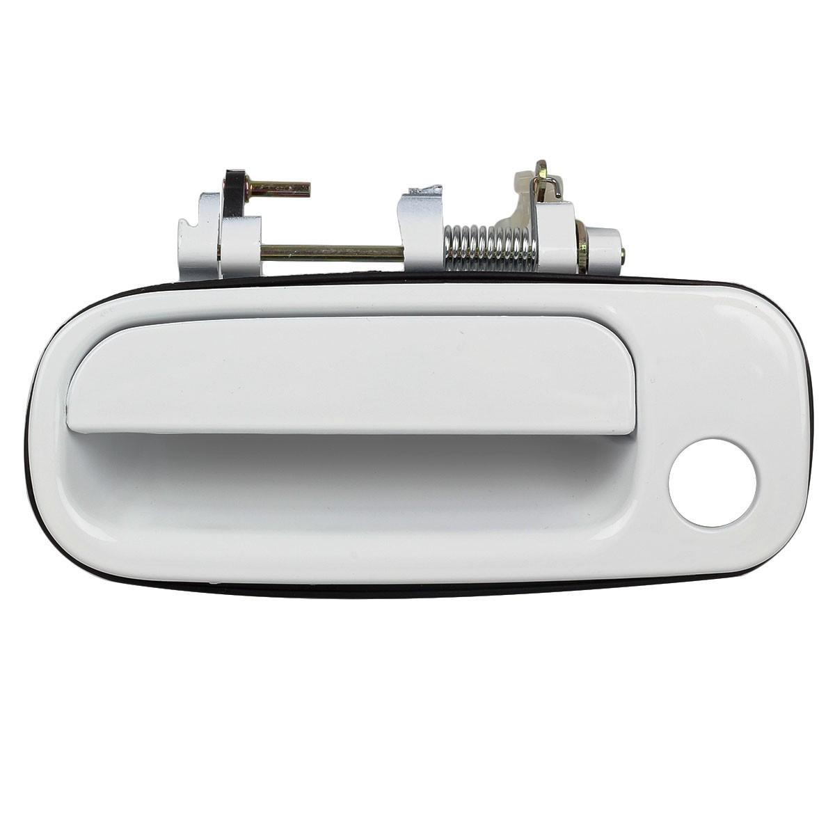 For 1992 1996 Toyota Camry Exterior Front Left Lh Driver Side Door Handle White Ebay