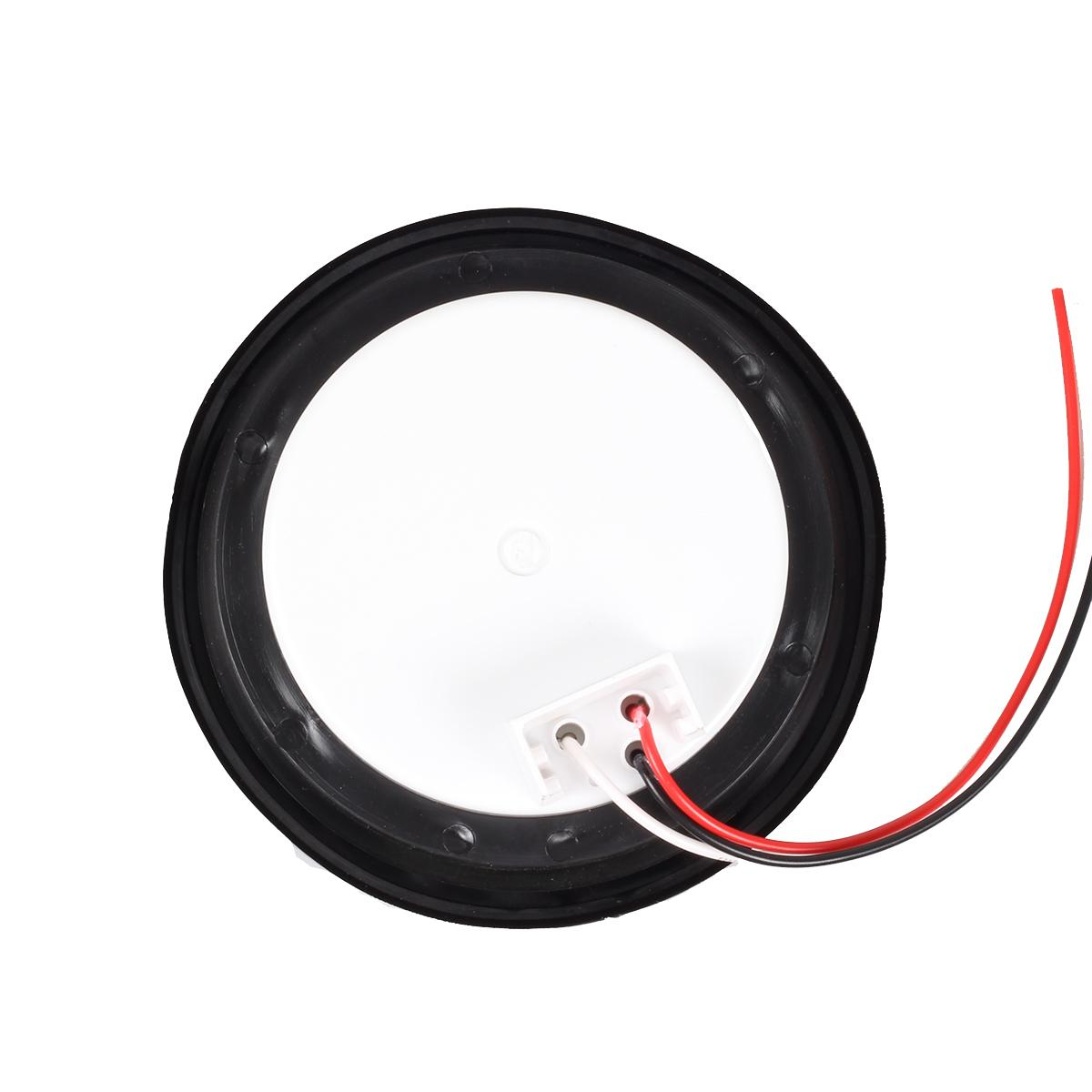 4 U0026quot  Inch 12 Led Round Stop  Turn  Tail Truck Light W  Grommet Wiring  2 Red 2 White