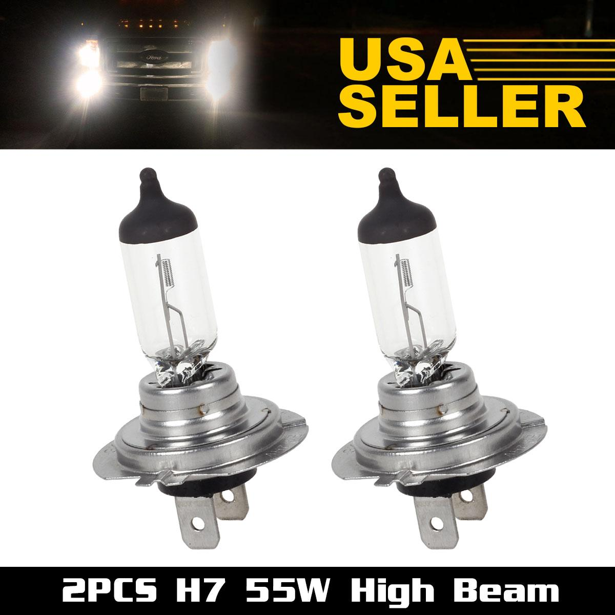 2pcs for bmw headlight high beam h7 12v 55w standard. Black Bedroom Furniture Sets. Home Design Ideas