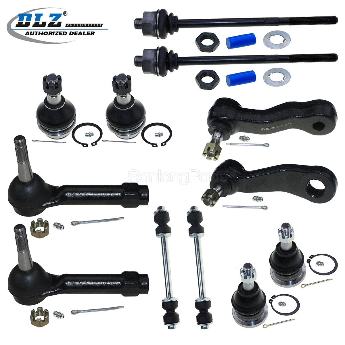 2001 Chevy Silverado 1500 Parts New Front Suspension Kit Ball Joint Pitman Arm For 2001 ...