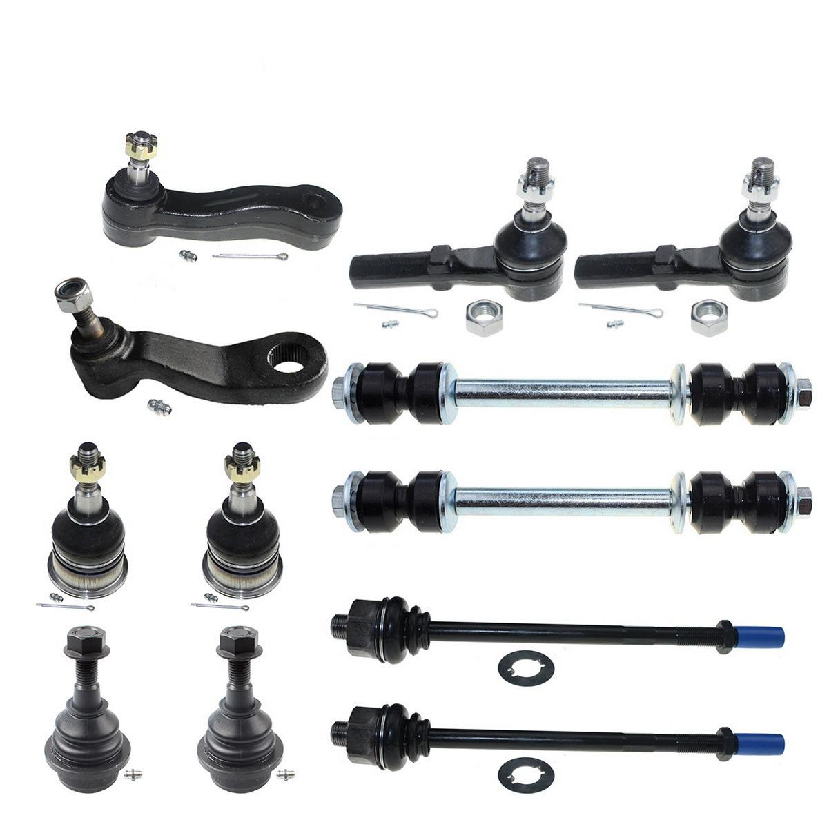 12x Stabilizer Bar Link Ball Joint Suspension Kit For 07