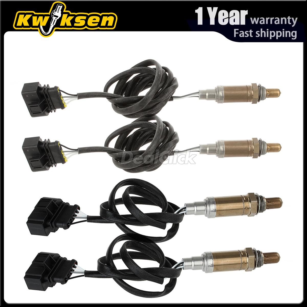 4pcs O2 Oxygen Sensor Upstream Downstream For 1999 Audi