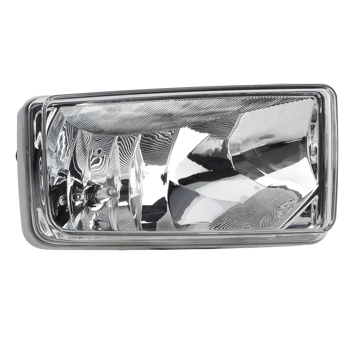 For Chevy Avalanche Silverado Suburban Clear Lens Chrome