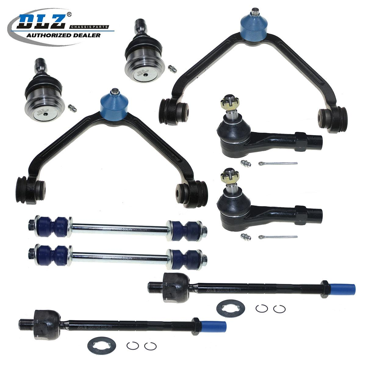 2001 Mazda B Series Cab Plus Suspension: 10x New Front For 1998-2011 Ford Ranger Suspension Kit