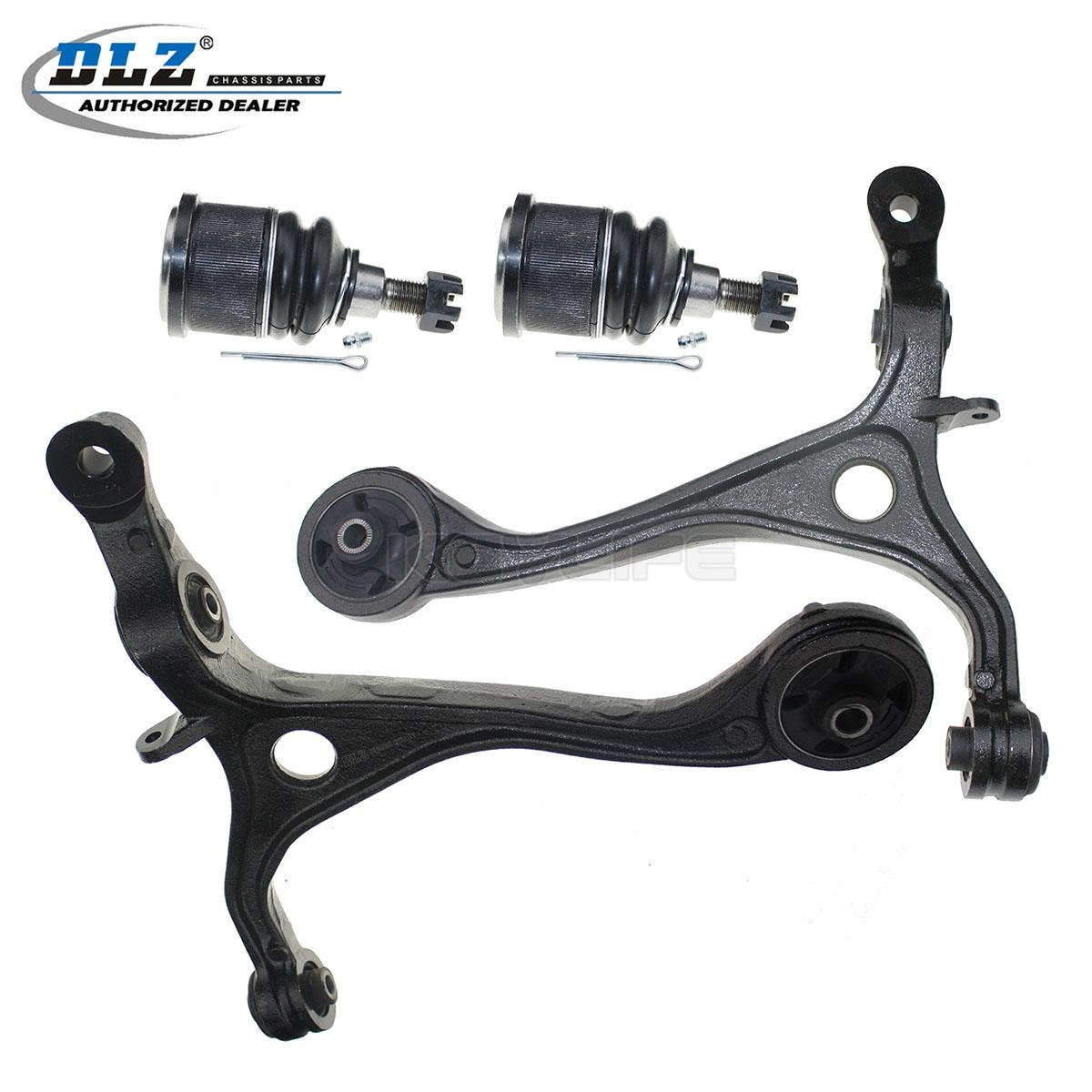 84 Honda Accord >> DLZ Front Lower Ball Joint Control Arm Kit Suspension For 2003-2007 Honda Accord | eBay