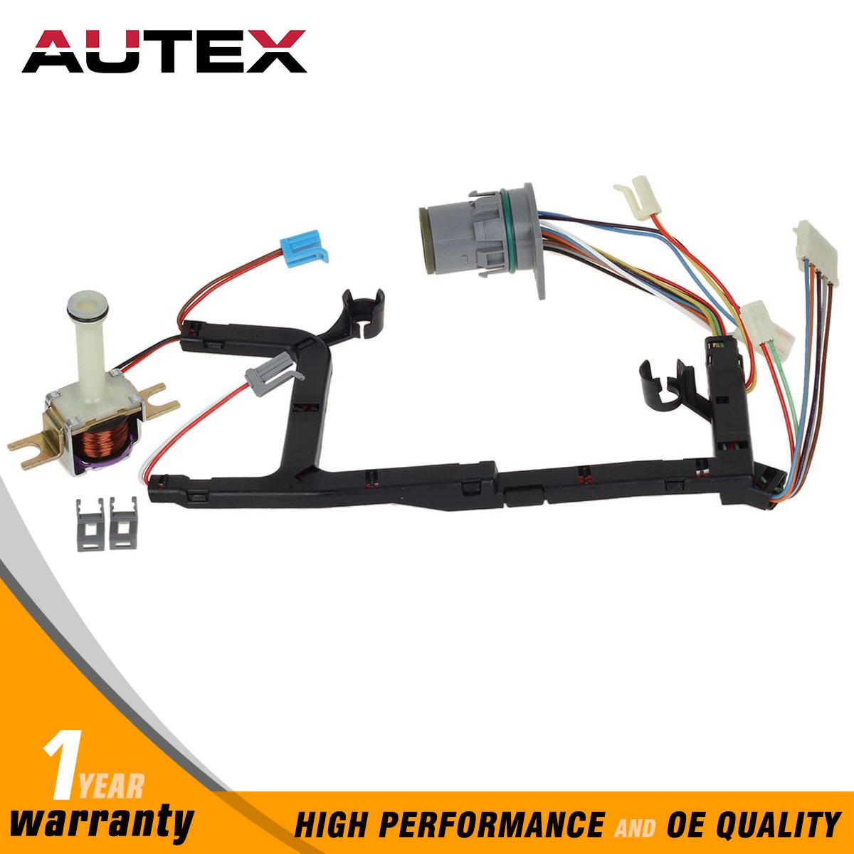 4l60e transmission internal wire harness w/tcc solenoid ... dodge transmission wiring harness 2002 jeep transmission wiring harness