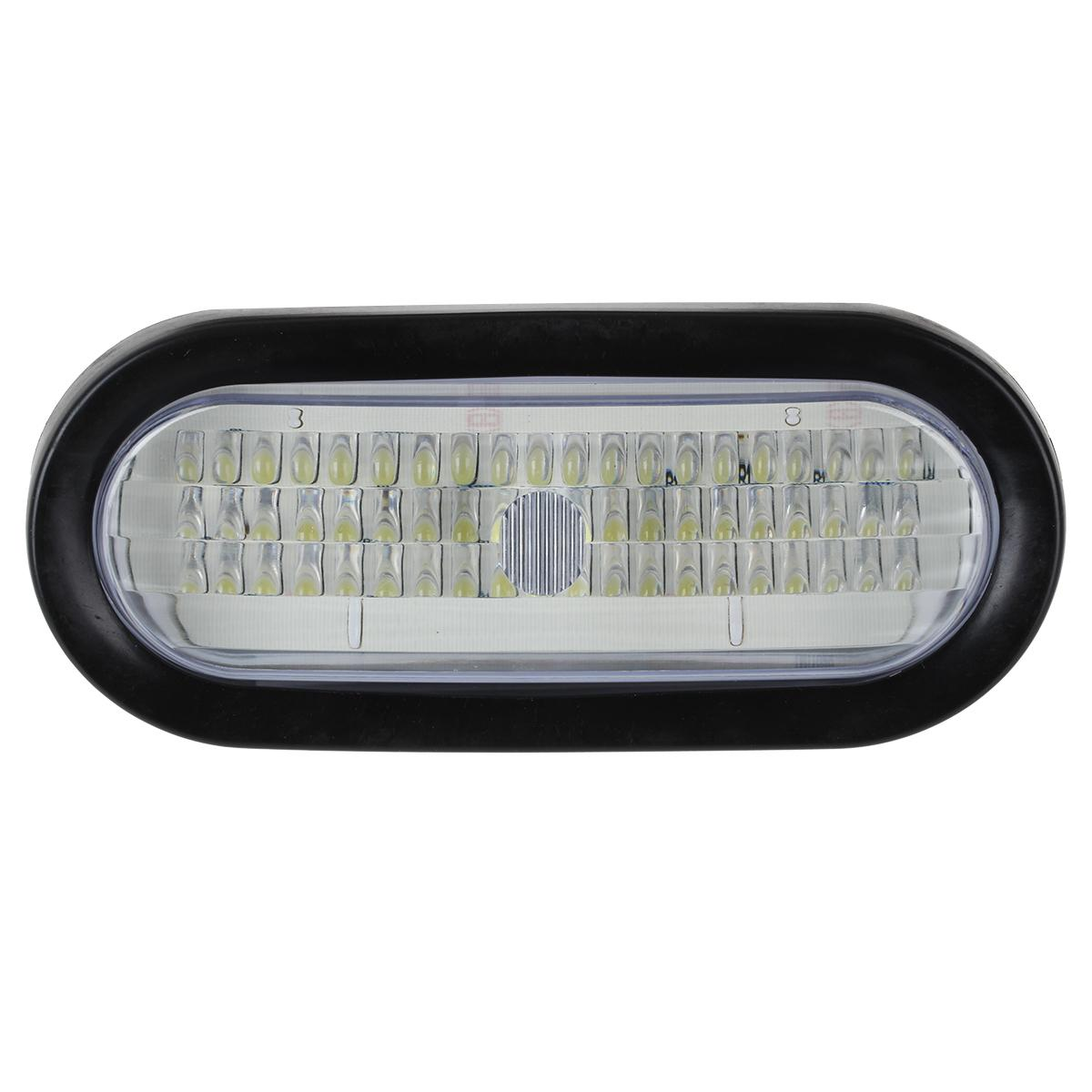 Super Bright 60led White 6 Quot Oval Stop Backup Turn Tail