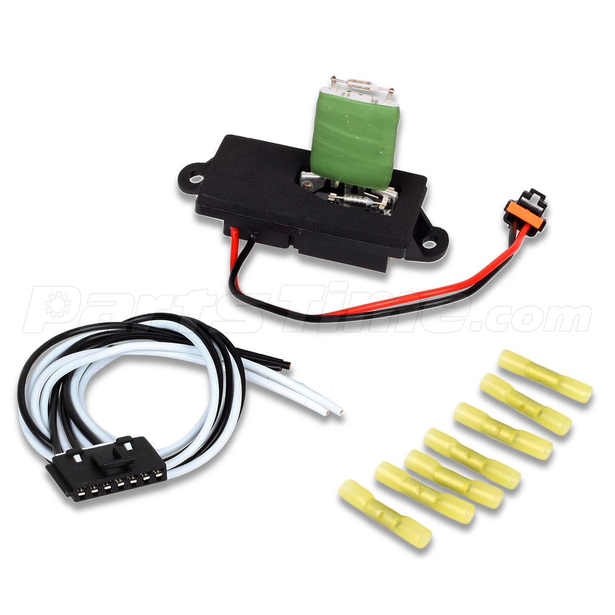 hvac blower motor resistor w wire harness for 00 06 gmc yukon xl Yukon Wire Harness Yukon Wire Harness #100 93 yukon wire harness diagram