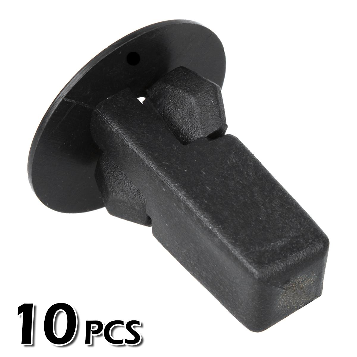 10pcs Fender Bumper Hood Panel Screw Grommet Fastener For