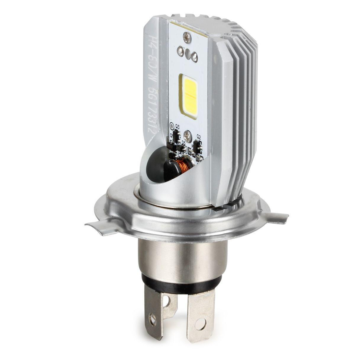 1x h4 motorcycle 6500k led hi lo beam headlight front light bulb lamp for honda ebay. Black Bedroom Furniture Sets. Home Design Ideas