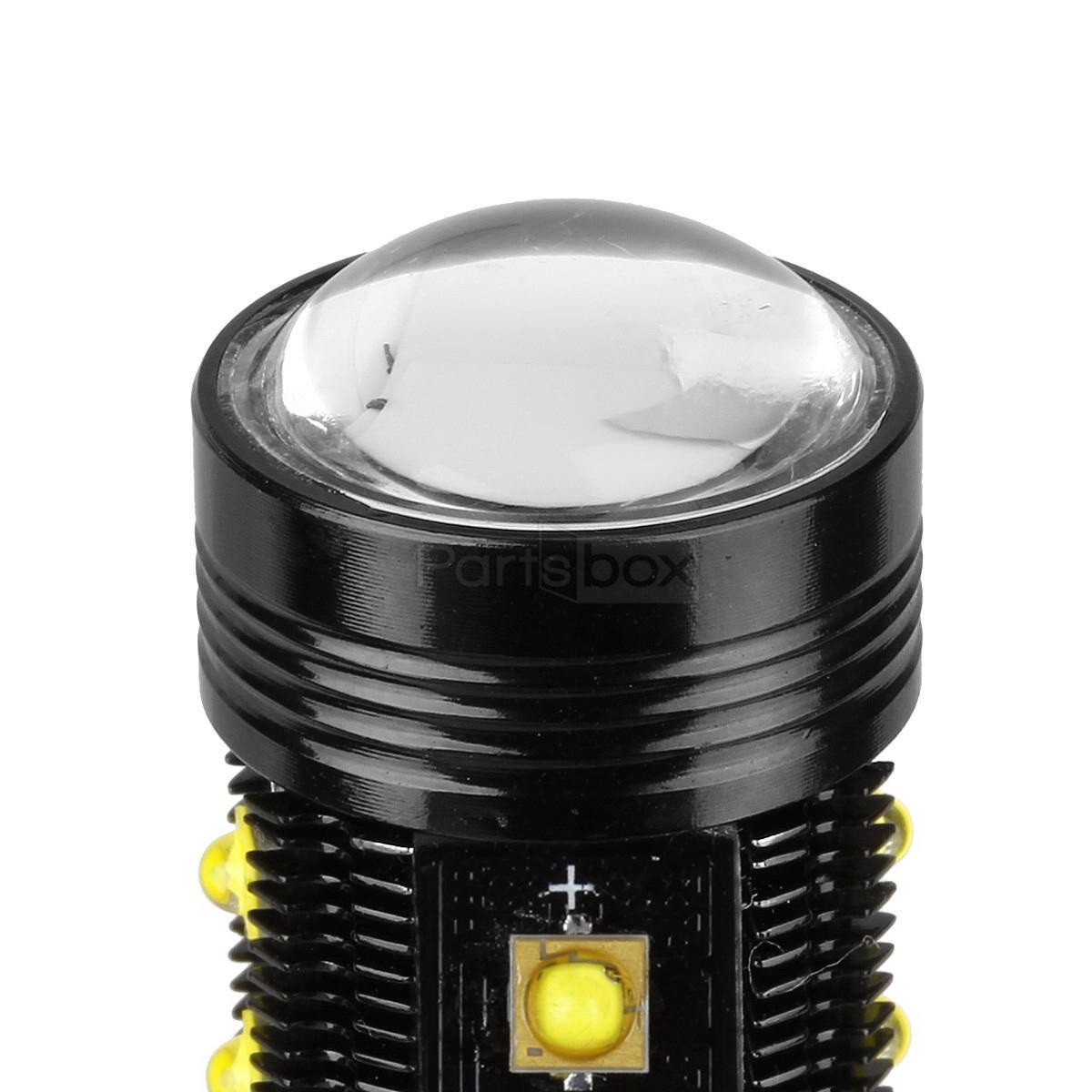 1 Pair Super White 75w 5202 H16 Led Xenon Bulbs Fog Lights