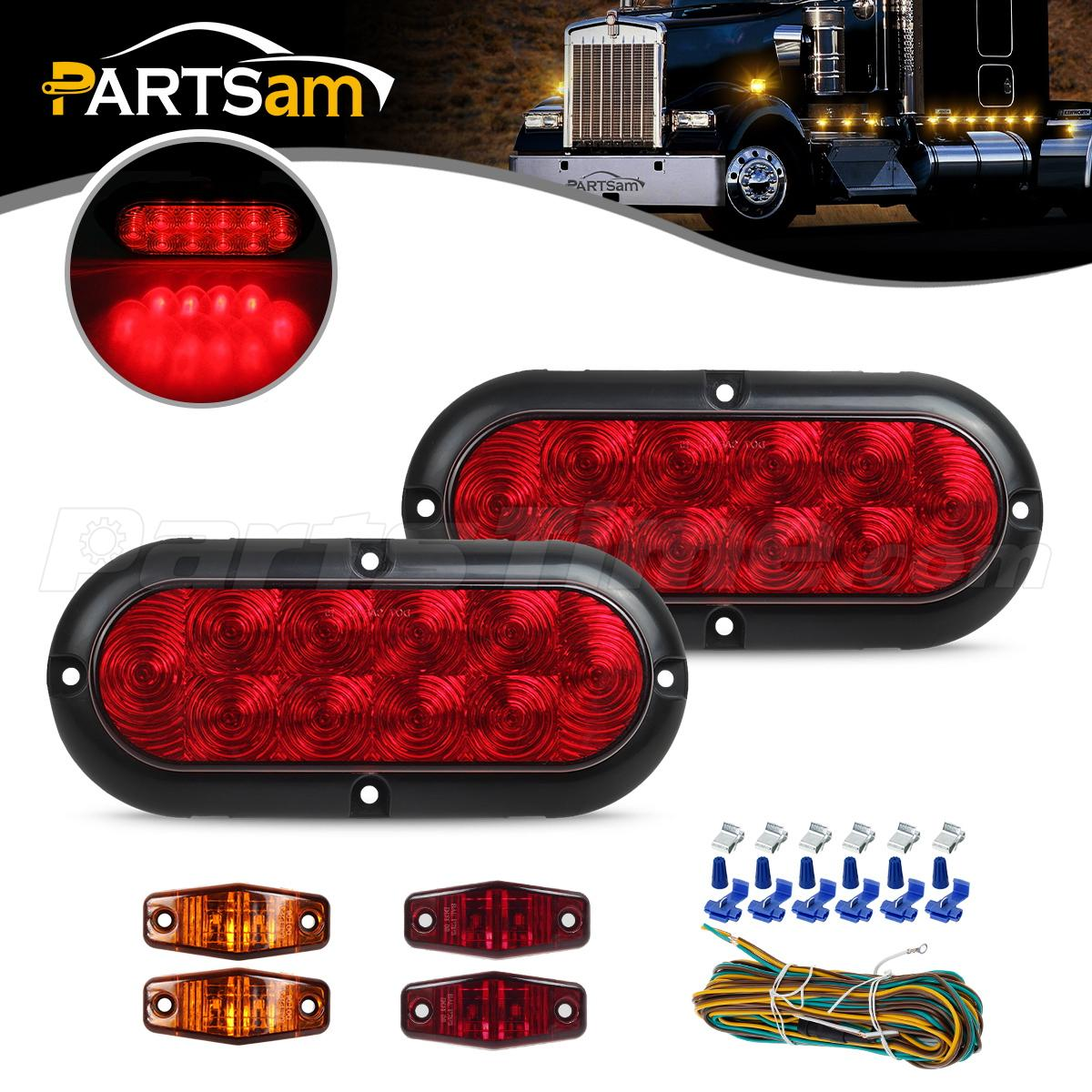 150984 2?p=ZXNvbmdib24=&s=t&rn=6272684 trailer boat led light kit,red stop turn tail,red amber side Wiring Multiple Lights at eliteediting.co