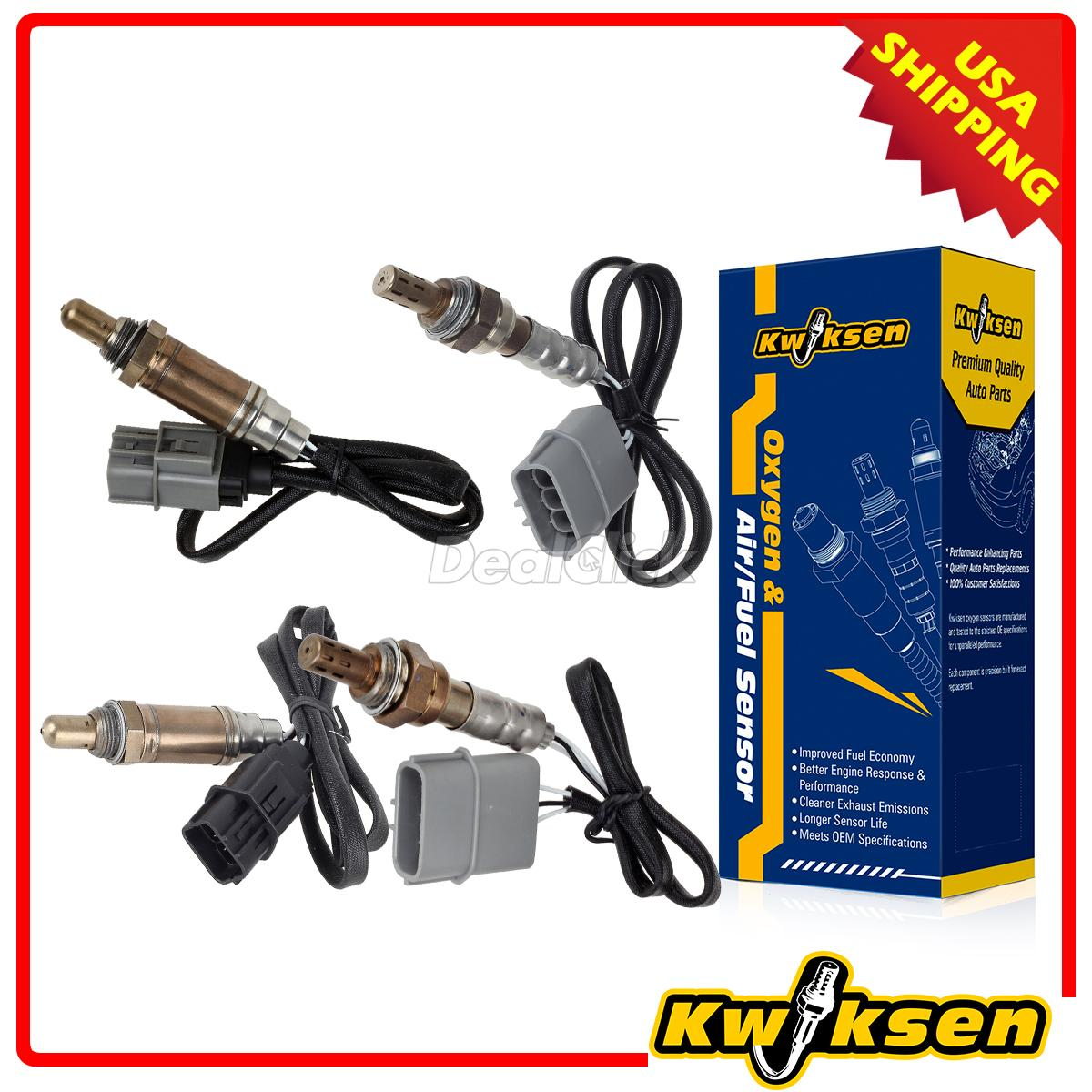 4x Oxygen O2 Sensor 1, 2 Up+Downstream For 2001 Nissan Maxima 3.0L | eBay