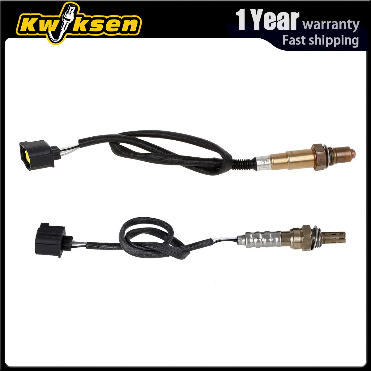 2pcs Oxygen O2 Sensor 1, 2 Up+Down For 2005-2008 Chrysler