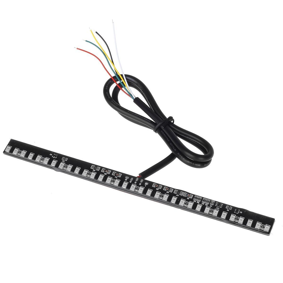33LED Integrated Motorcycle Light Strip Tail Brake Stop