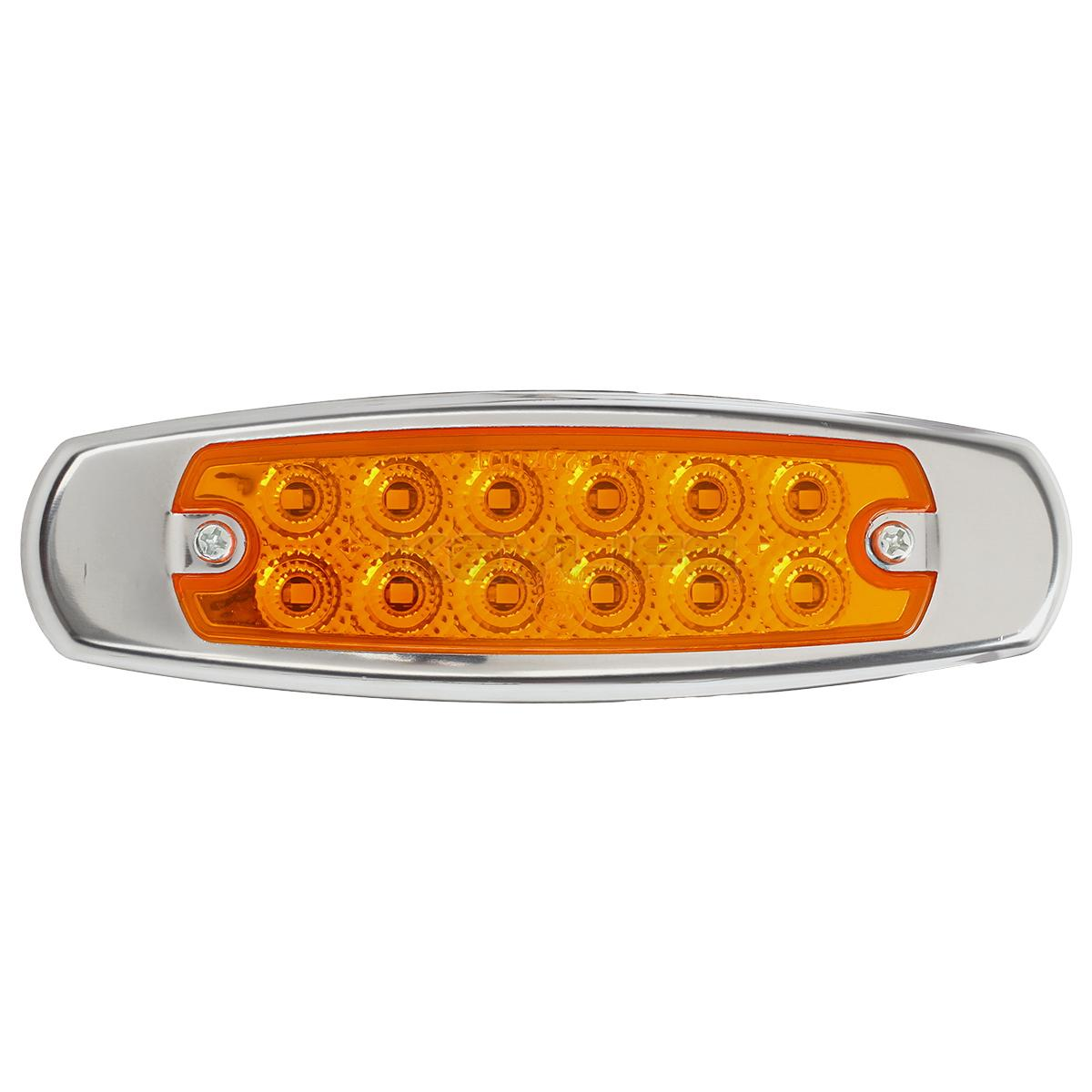 10x 6 15 U0026quot Led Marker Clearance Light 12led Pigtail