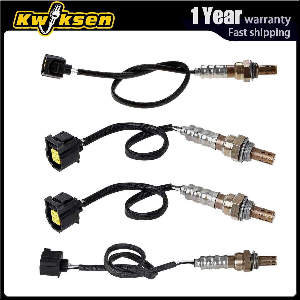 4x Oxygen O2 Sensor 1, 2 Up+Down For 2005 Dodge Dakota