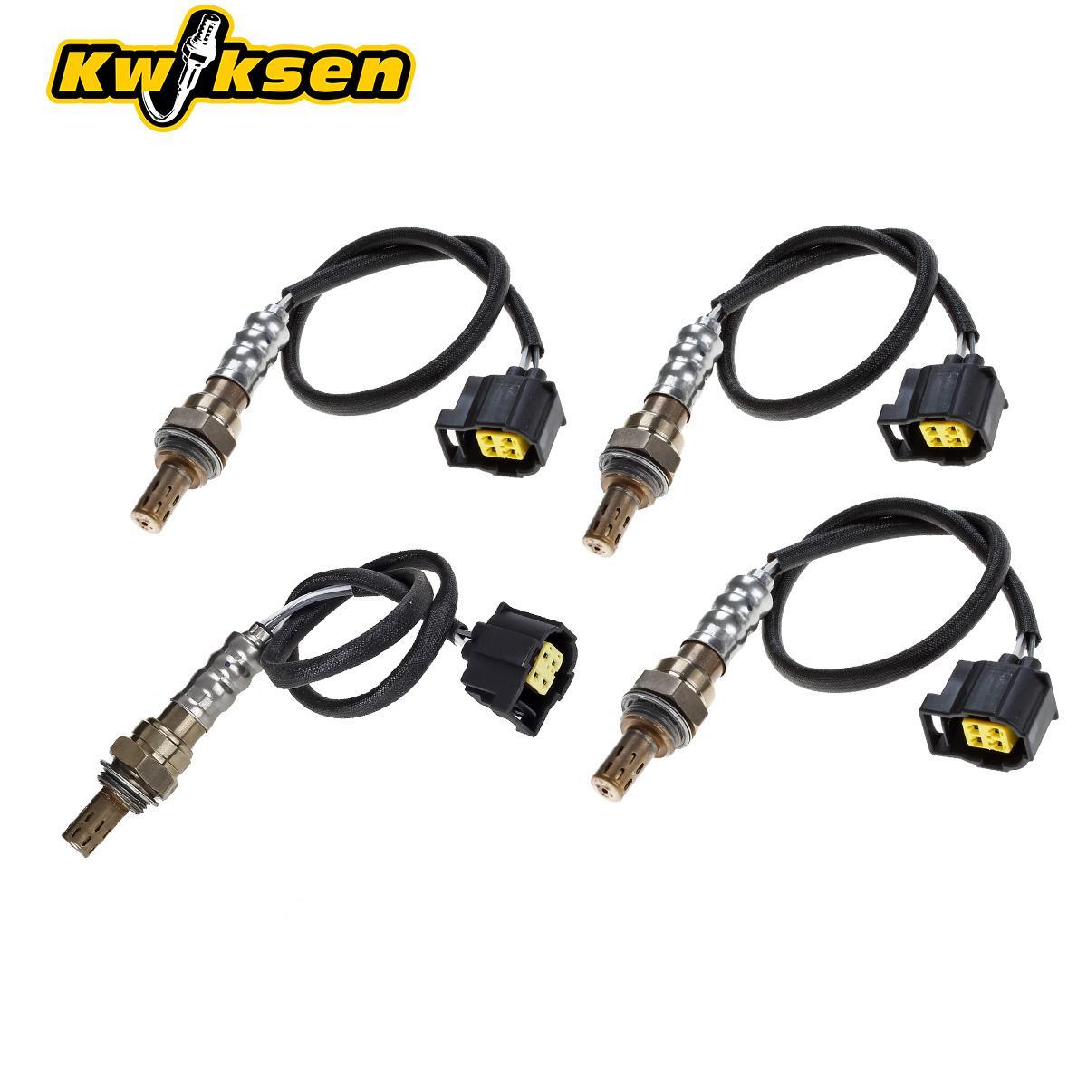 4x Upper & Under Oxygen Sensor O2 For 2007-2010 Dodge
