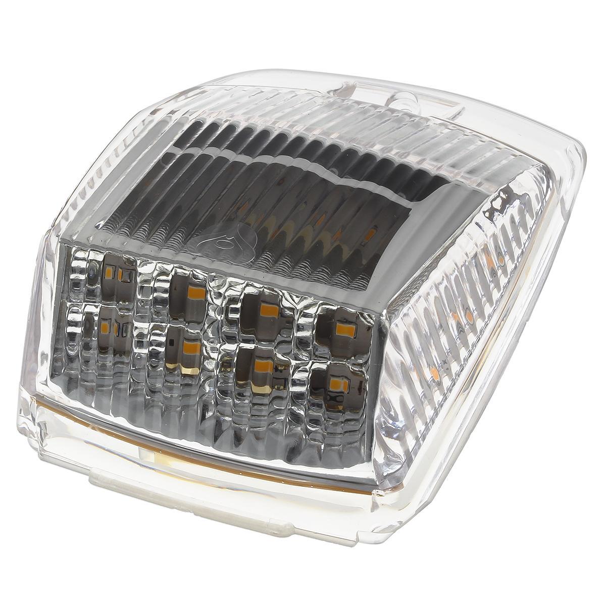 1xclear lens amber 17 led cab marker top clearance. Black Bedroom Furniture Sets. Home Design Ideas