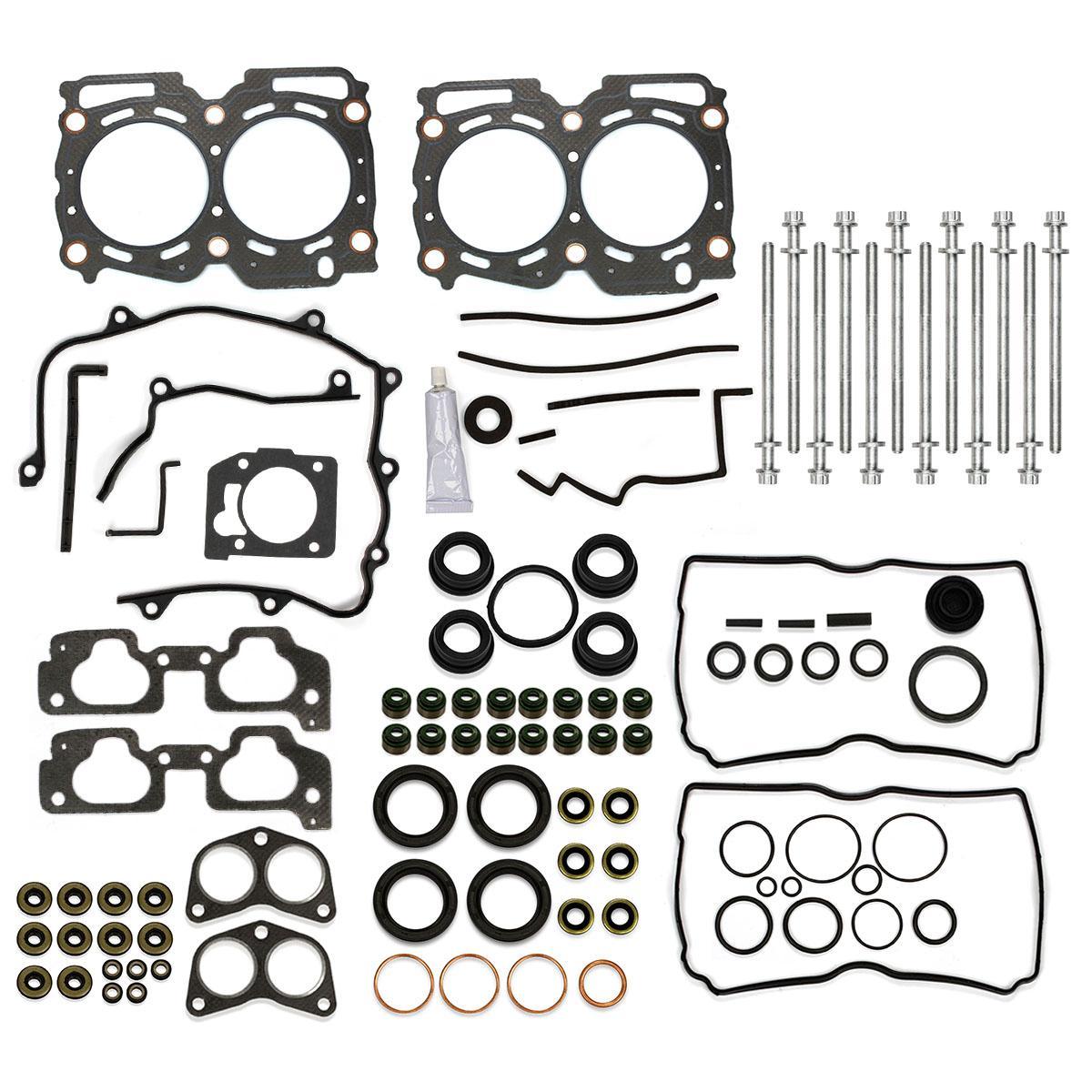 Cylinder Head Gasket Bolts Kit Fits 99 03 Subaru Legacy