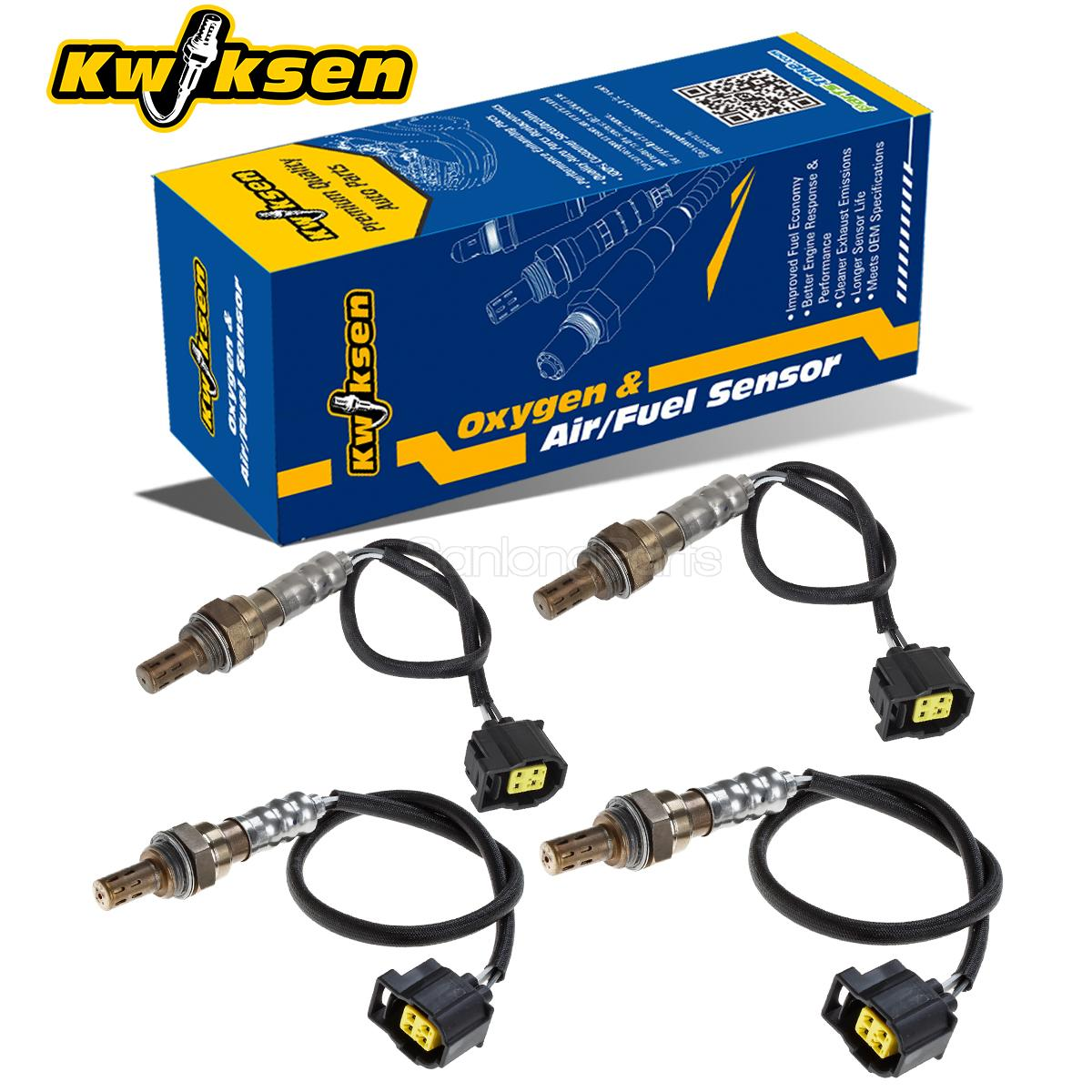 4x O2 Oxygen Sensor Upstream & Downstream For 2004 Jeep