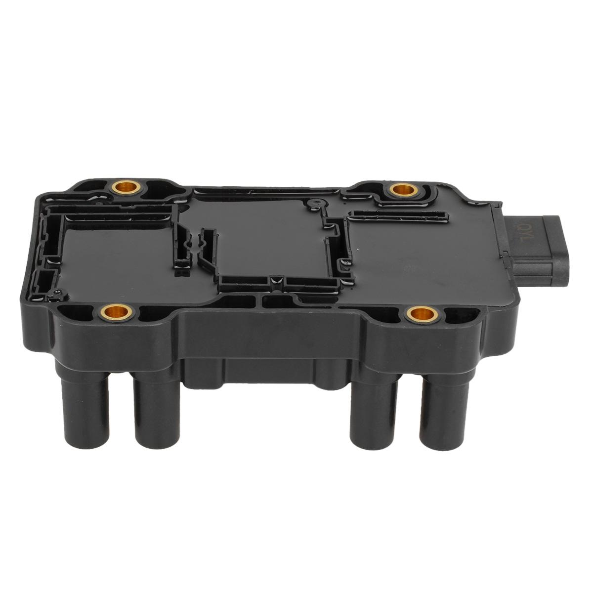 ignition coil pack for chevy gmc buick pontiac saturn v6 3 4l 3 5l 3 9l 4 3l ebay. Black Bedroom Furniture Sets. Home Design Ideas