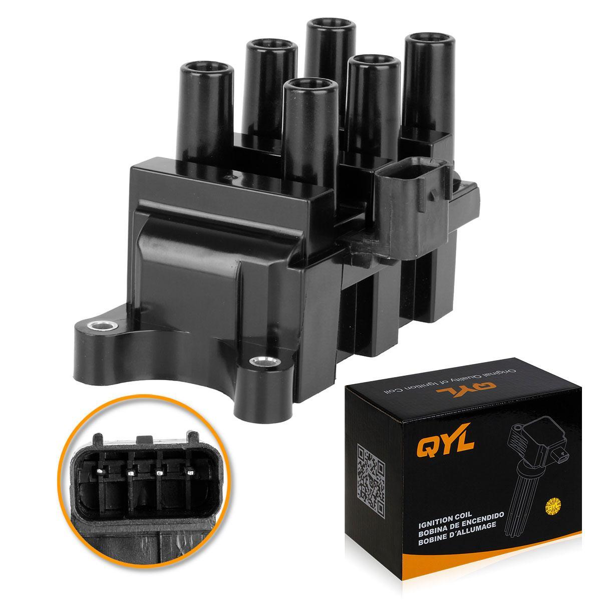 Brand ignition coil pack for ford f 150 01 08 v6 4 2l